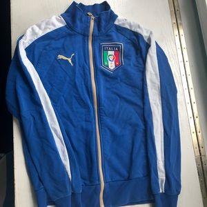 Puma Italia full zip sweatshirt